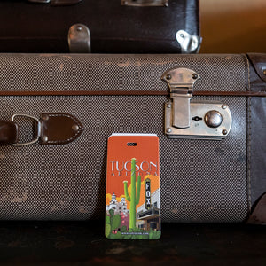 Retrotrek Luggage Tag--Tucson