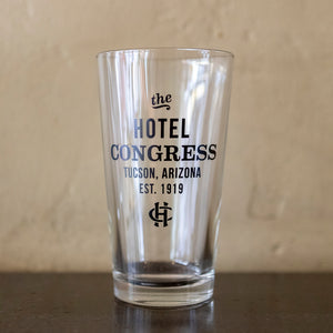 Hotel Congress Pint Glass