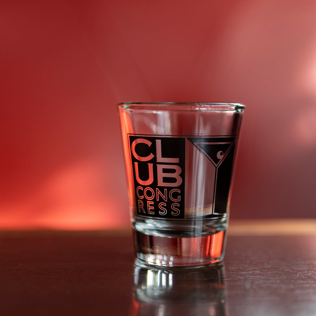 Club Congress Shot Glass