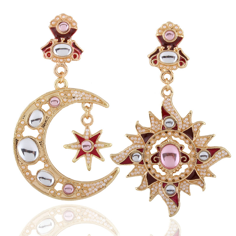 earrings rhinestone crystal