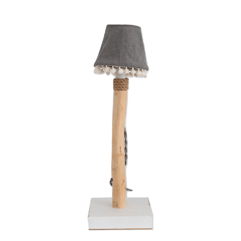 Table lamp pompom