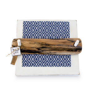 Driftwood napkin holder