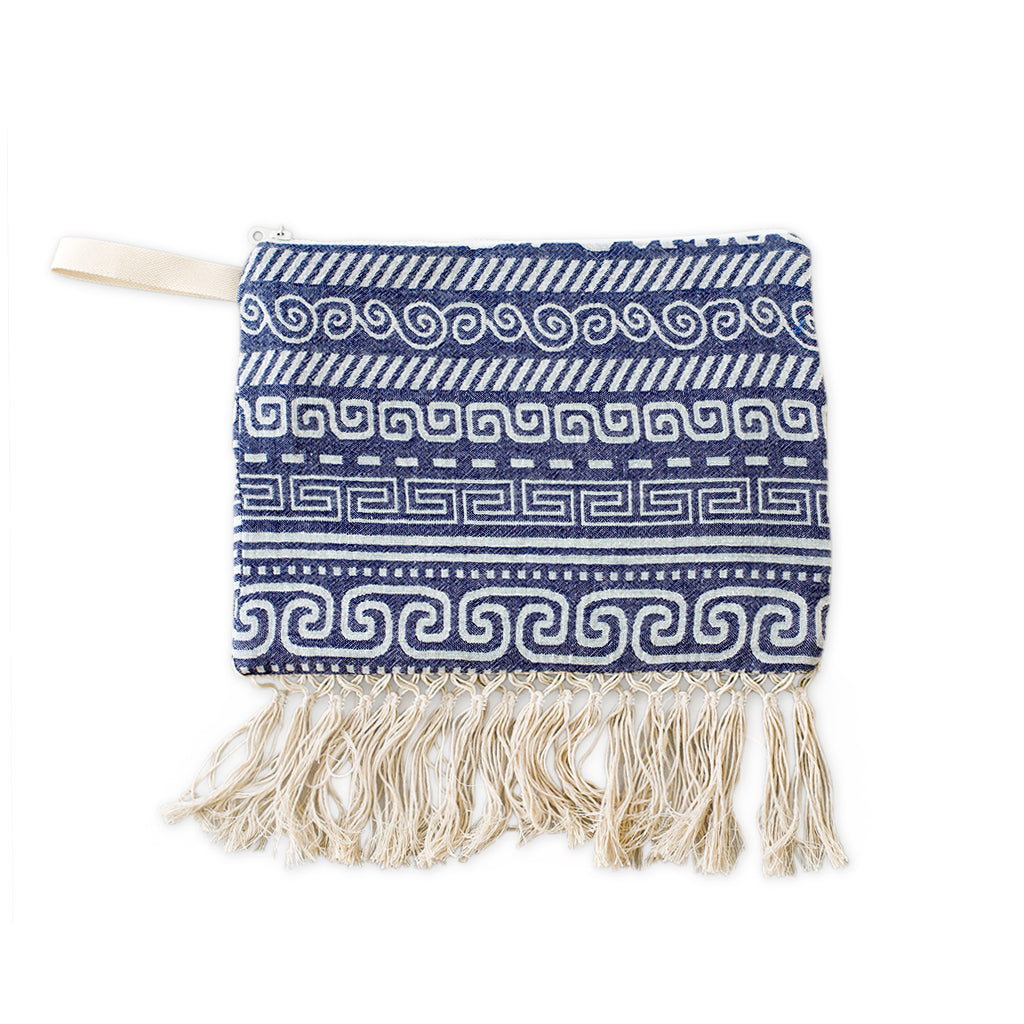 Knossos pouch with tassels
