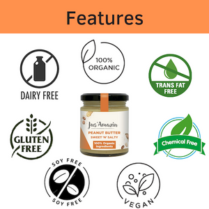 Best Peanut Butter India_Organic Jaggery_Organic_Natural Foods Online_High Protein Foods_Vegan_Vegan Foods_Gluten Free Foods Online India_Vegan Nut Butter_JusAmazin_India_bangalore_Peanut Butter Online India