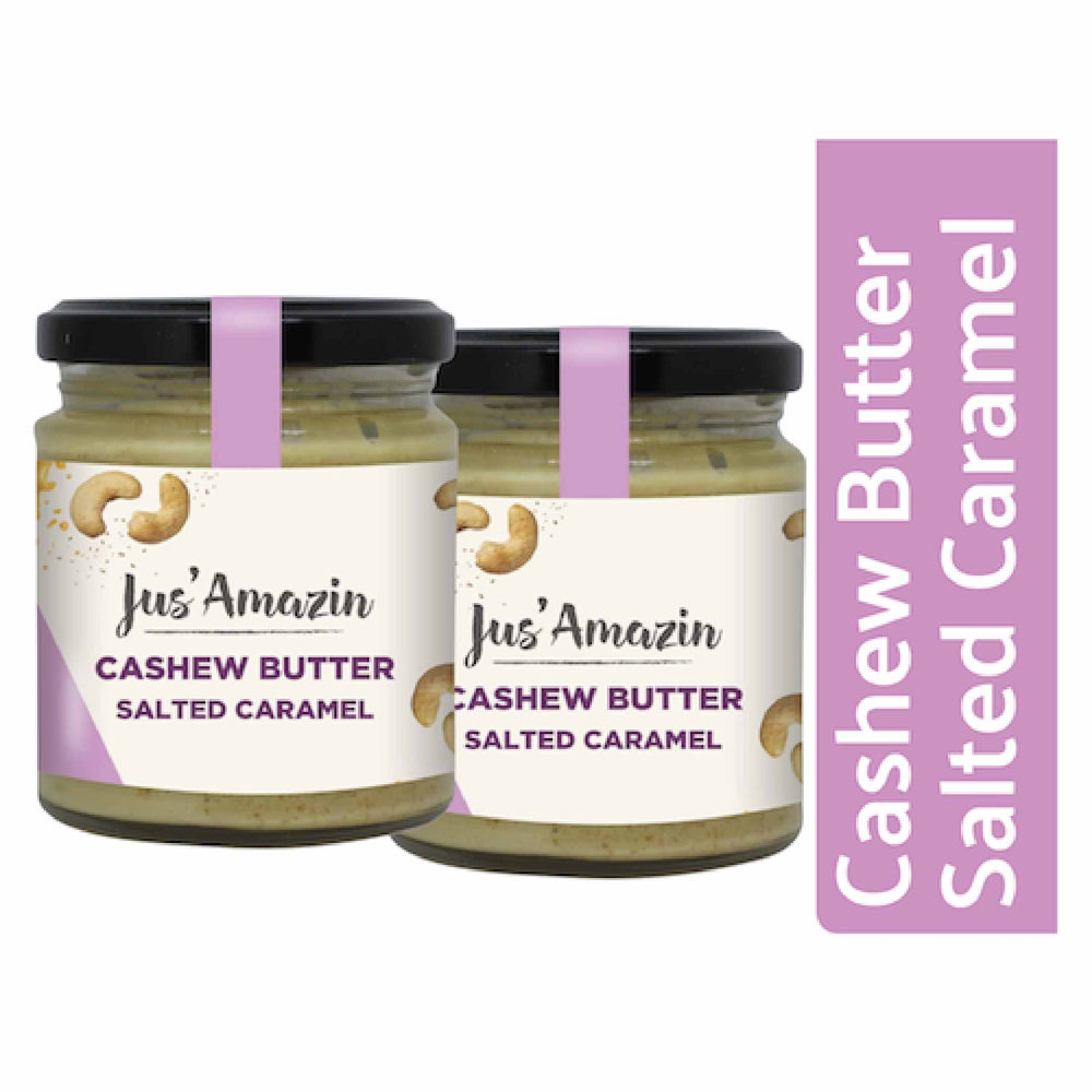 Load image into Gallery viewer, Cashew Butter: Salted Caramel (Pack of 2)