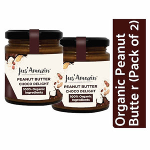Cashew ButterOrganic Peanut Butter - Choco Delight (Pack of 2)