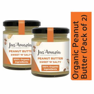 Organic Peanut Butter Creamy - Pack of 2