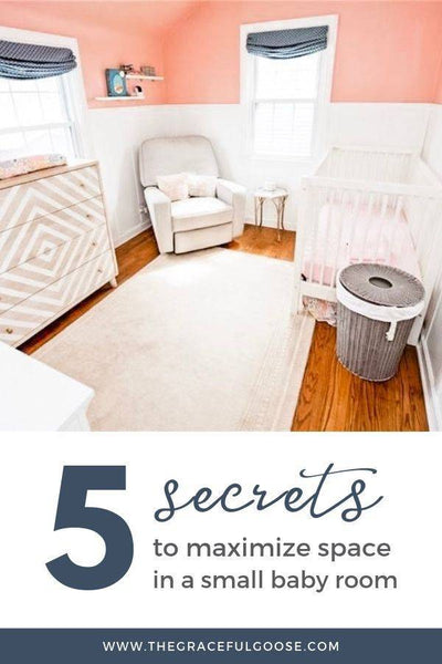How to maximize space in a small nursery