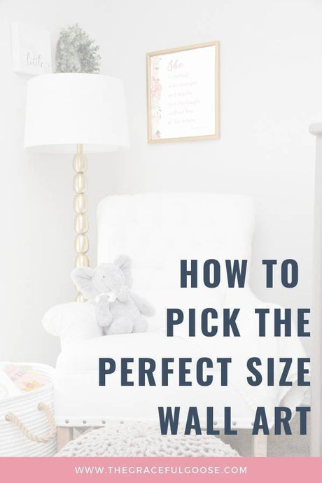 How to pick the perfect size wall art