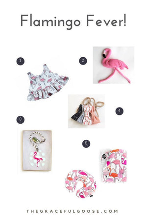 Favorite flamingo baby gifts