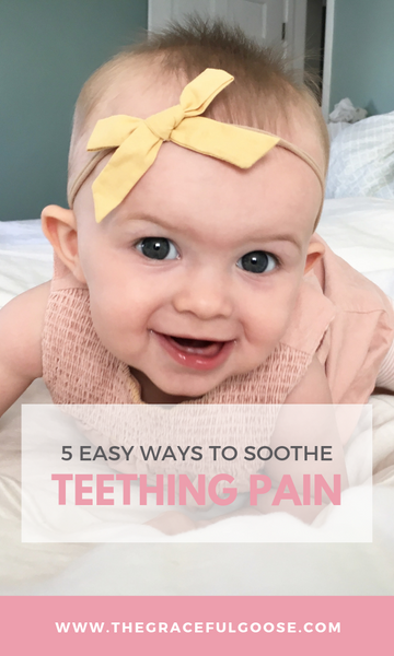 Five easy ways to soothe baby's sore gums