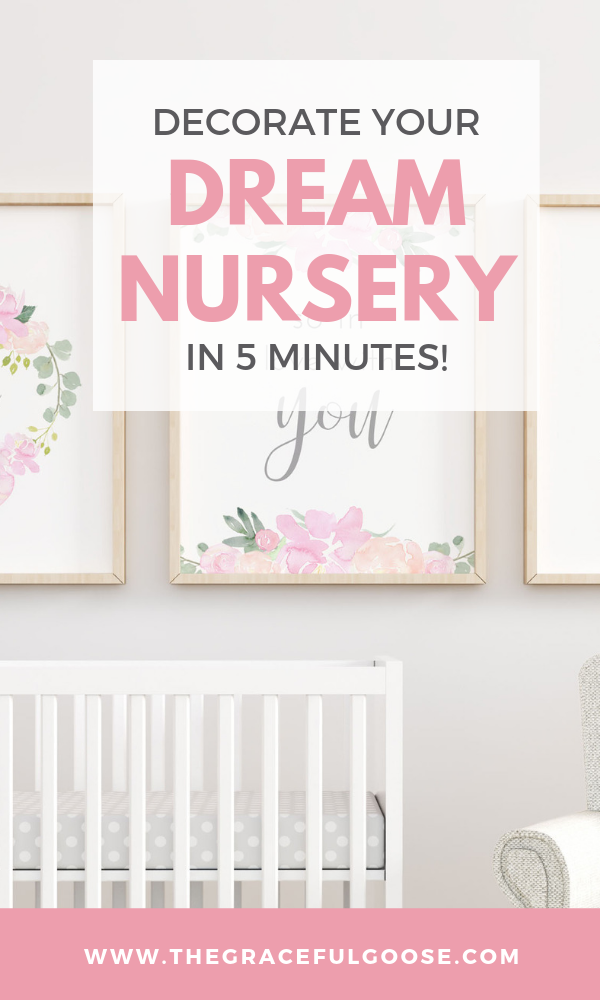 Tips and tricks to decorate your nursery with downloadable nursery art (bonus: it's budget friendly!)