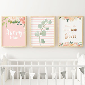 Coral #3 // Set of 3 Prints | Nursery Prints | The Graceful Goose