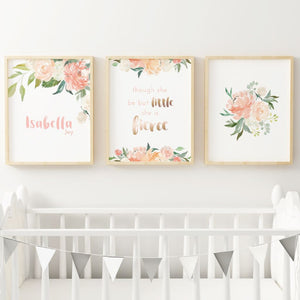 Coral #4 // Set of 3 Prints