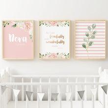 Dark Blush Nursery Print Set #4