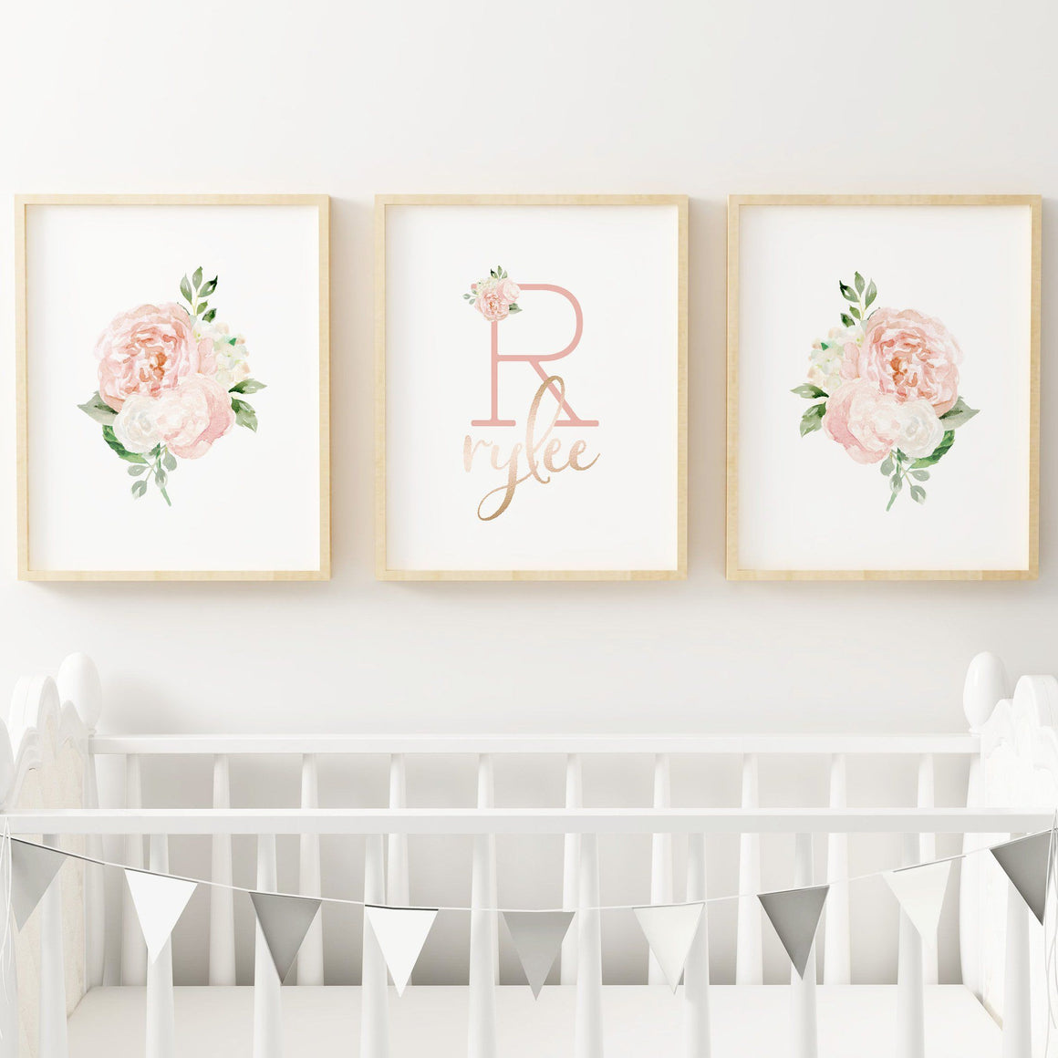 Dark Blush #5 // Set of 3 Prints