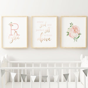 Dark Blush #6 // Set of 3 Prints