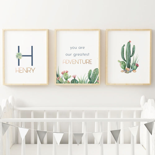 Desert Series Nursery Print Set #1