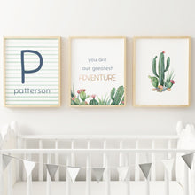 Desert Series Nursery Print Set #2