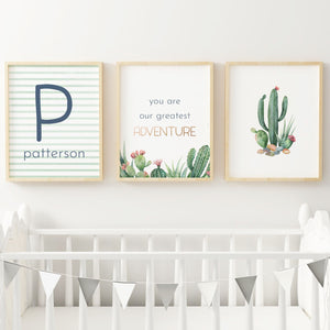 Desert #2 // Set of 3 Prints Nursery Prints TheGracefulGoose