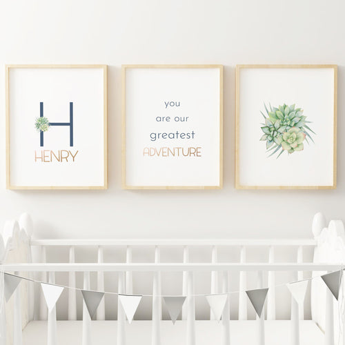 Desert Series Nursery Print Set #3