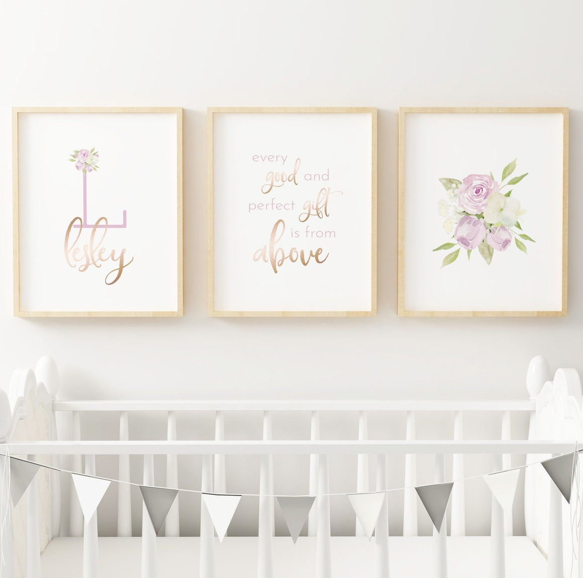 Lavender #5 // Set of 3 Prints