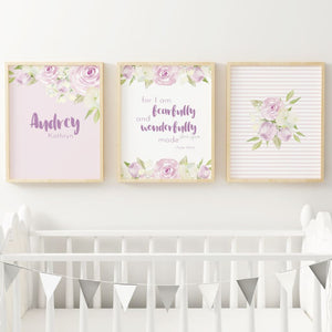 Lavender #2 // Set of 3 Prints