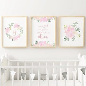 Light Pink #1 // Set of 3 Prints