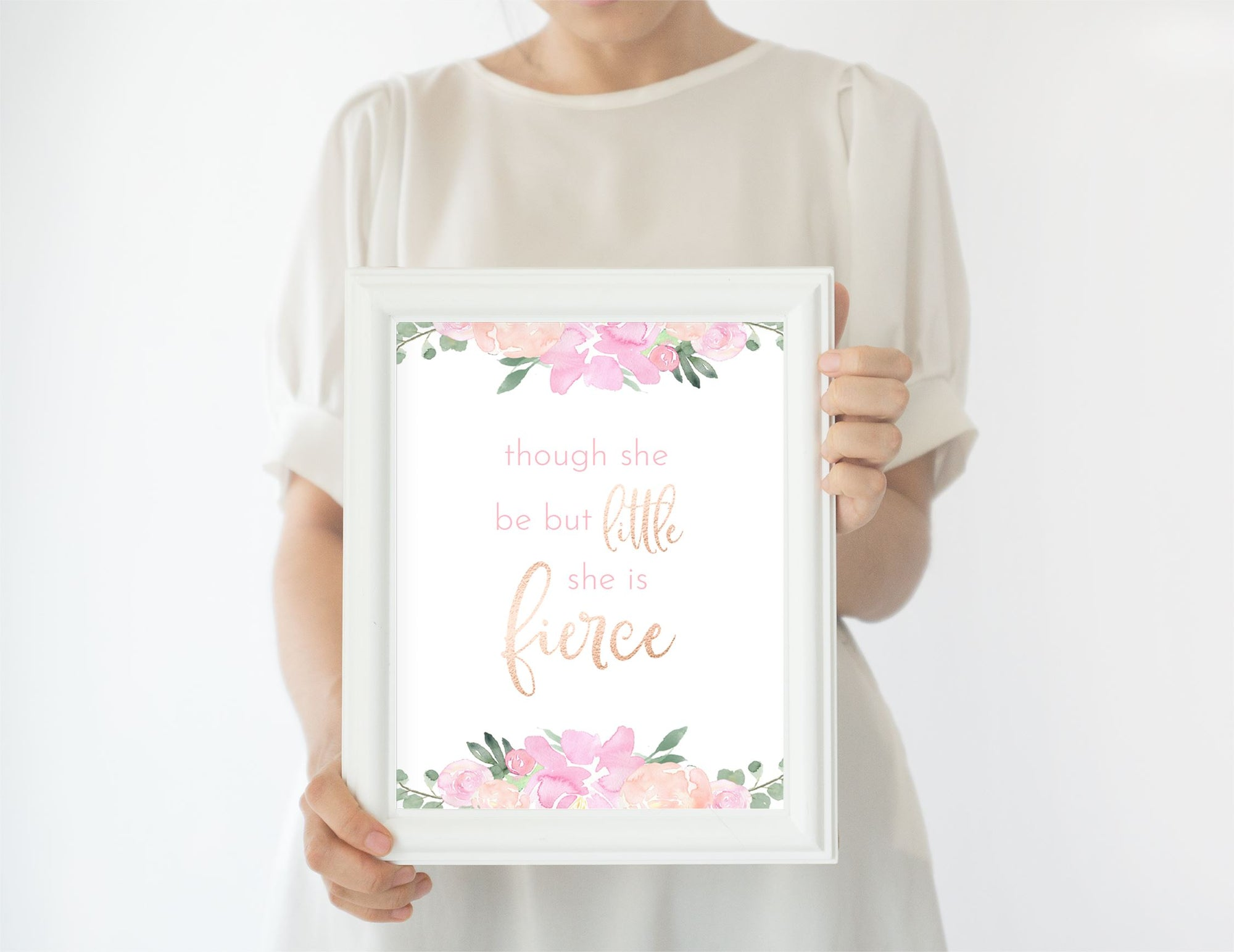 Light Pink #1 // Set of 3 Prints | Nursery Prints | The Graceful Goose