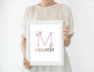 Light Pink Nursery Print Set #3 | Nursery Prints | The Graceful Goose