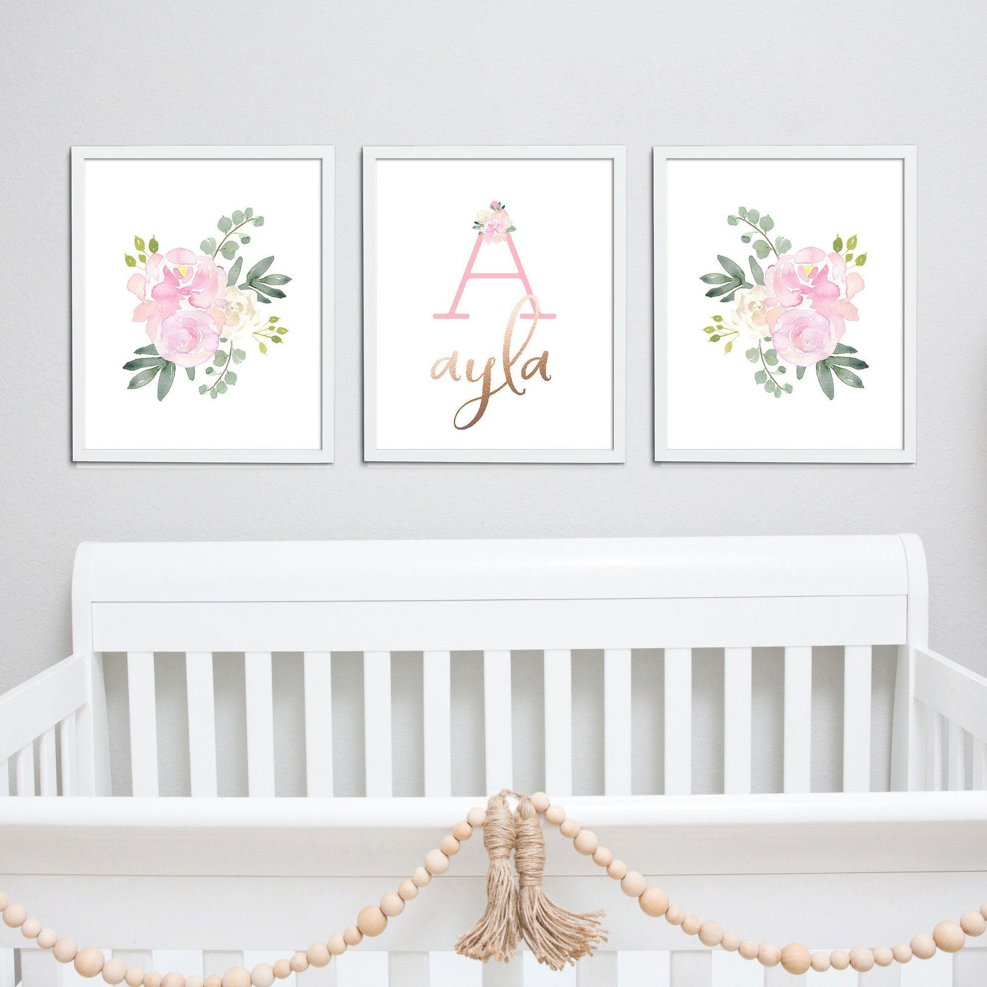 Light Pink #4 // Set of 3 Prints Nursery Prints TheGracefulGoose