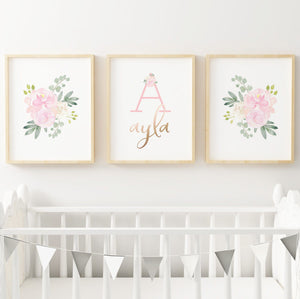Light Pink #4 // Set of 3 Prints