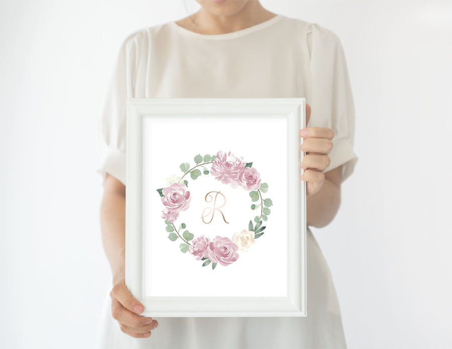 Mauve #2 // Set of 3 Prints | Nursery Prints | The Graceful Goose