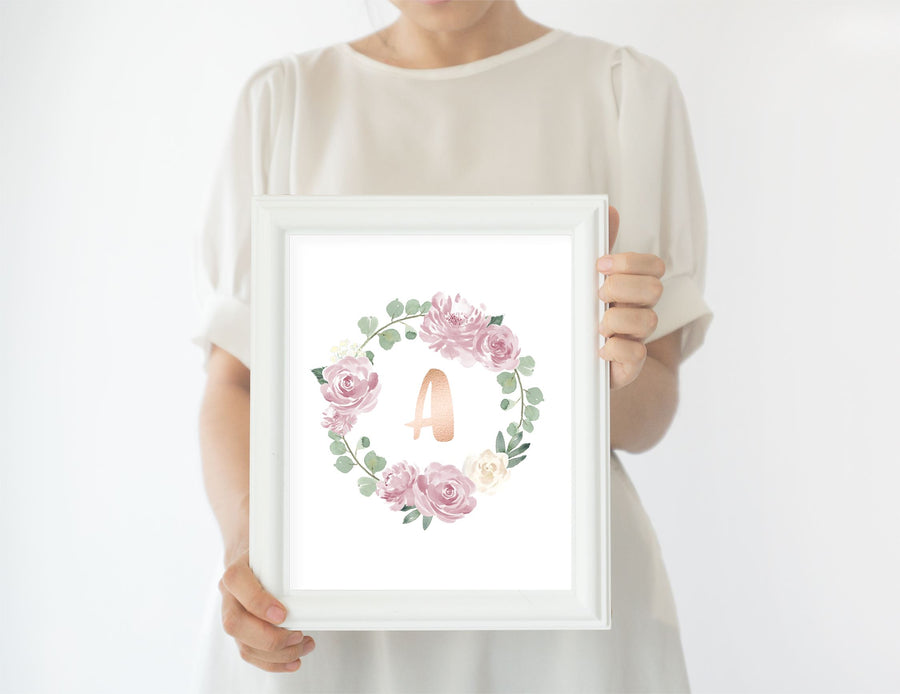Mauve #3 // Set of 3 Prints | Nursery Prints | The Graceful Goose