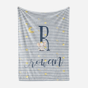 Over The Moon Baby Blanket | Baby Blankets | The Graceful Goose