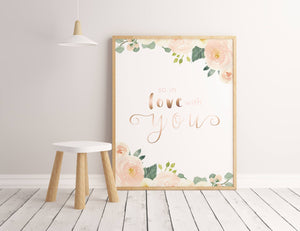 Soft Blush #1 // Set of 3 Prints | Nursery Prints | The Graceful Goose