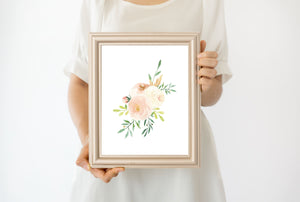 Soft Blush #1 // Set of 3 Prints