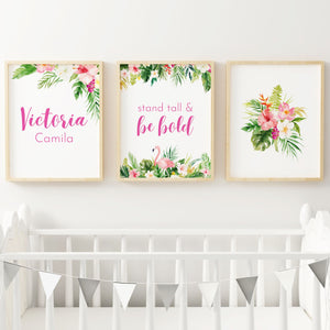 Summer Vibes #1 // Set of 3 Prints | Nursery Prints | The Graceful Goose