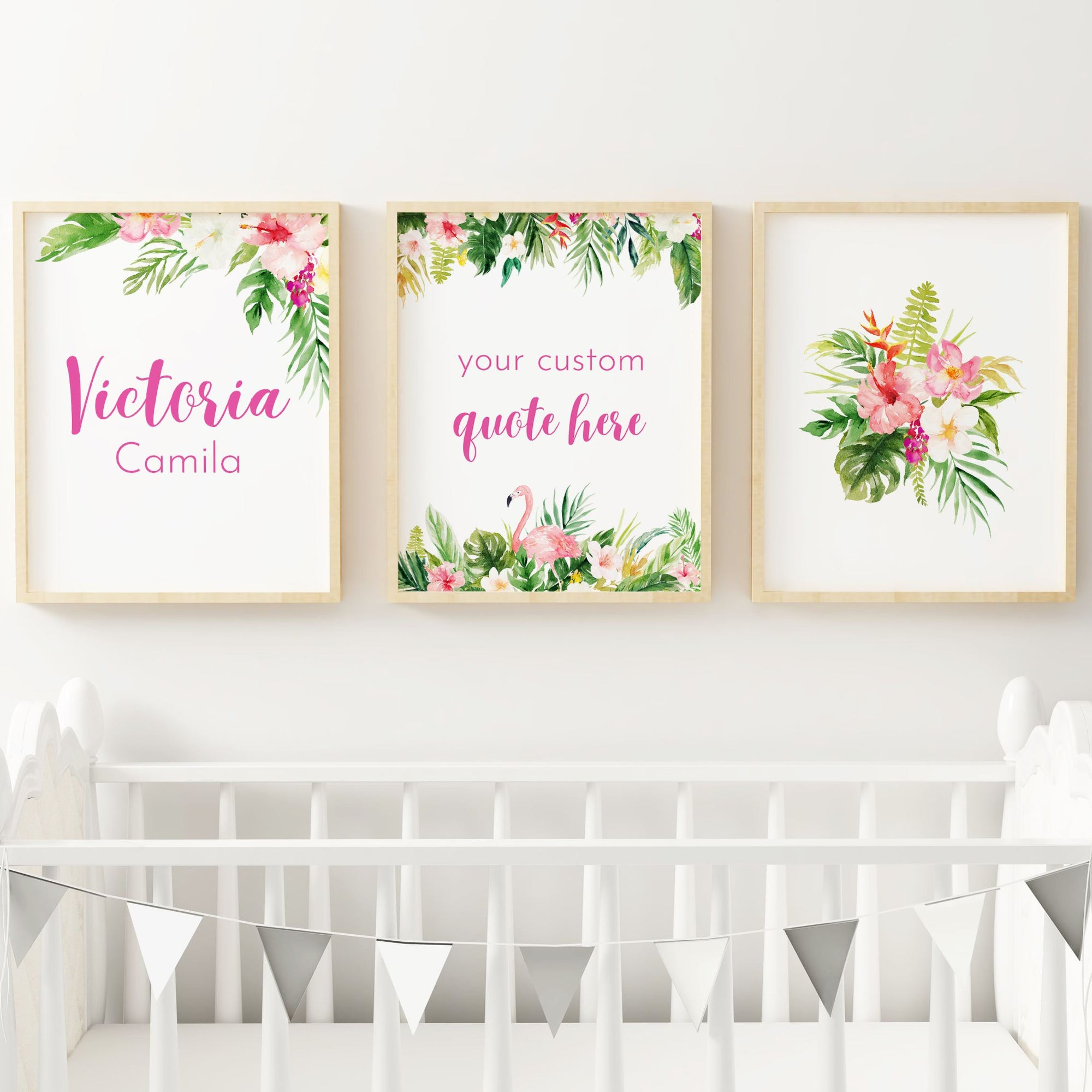 Summer Vibes #1 // Set of 3 Prints Nursery Prints The Graceful Goose