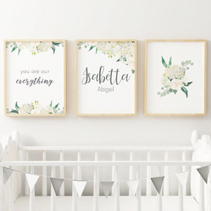 White #2 // Set of 3 Prints