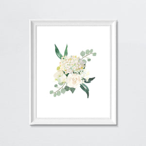 White #2 // Set of 3 Prints | Nursery Prints | The Graceful Goose