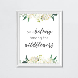 White #2 // Set of 3 Prints Nursery Prints TheGracefulGoose