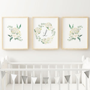 White Nursery Print Set #4
