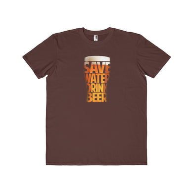 Save Water Drink Beer | Men's Lightweight Fashion Tee