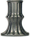 Tall Ribbed Pewter