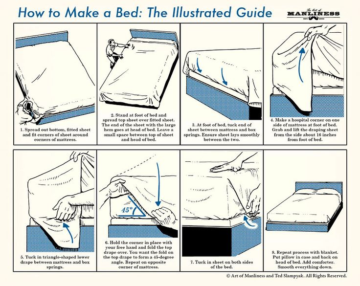 how to make your bed beau brummell