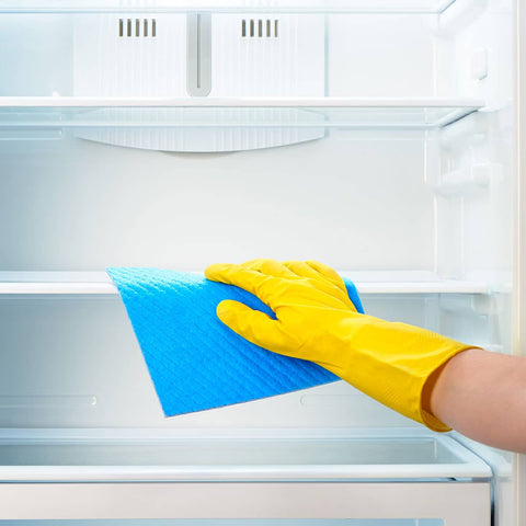 clean fridge cleaning spring cleaning