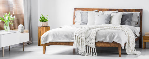 making your bed nesting working from home