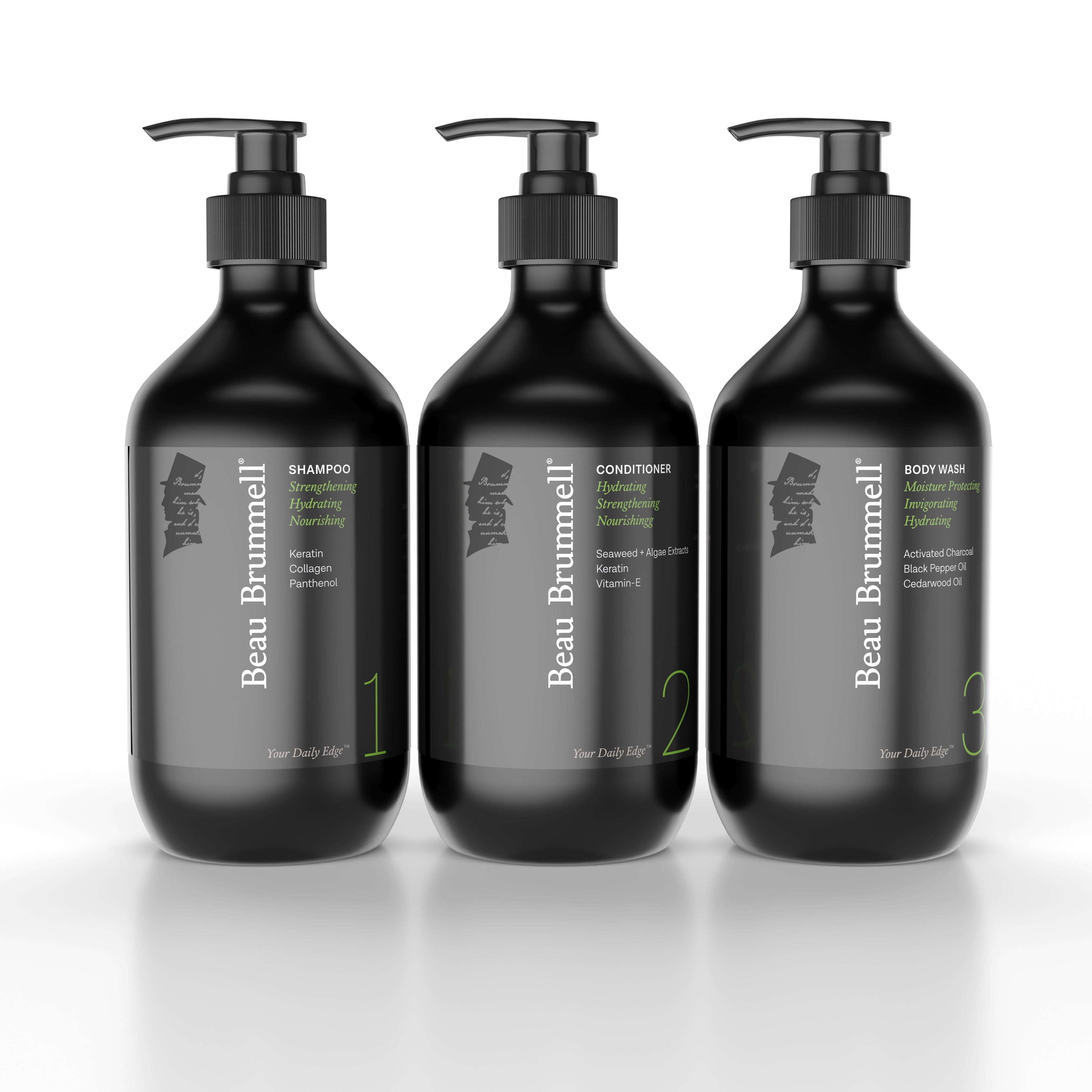 Beau Brummell for Men Shower Z. Shower Essentials Set