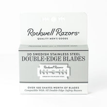 Beau Brummell Shaving 20 Pack Double-Edge Razor Blades